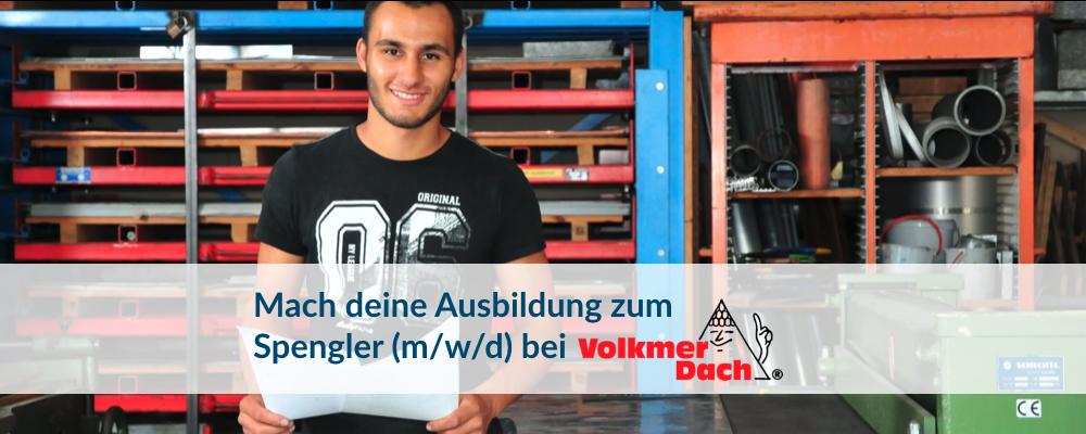 Ausbildung Spengler Volkmer Dach GmbH